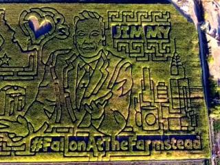 Jimmy Fallon Gets Corny in Idaho