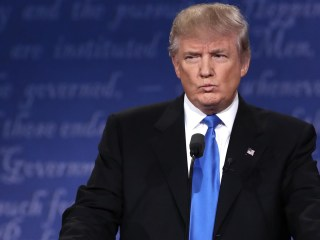 Donald Trump's temperament took the spotlight in first presidential debate