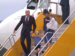 Will and Kate take Prince George, Princess Charlotte to Canada
