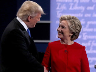 From 'sniffling' to 'braggadocious': Presidential debate tops social media