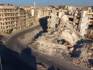 Haunting Footage Shows Aleppo Resembling a Ghost Town