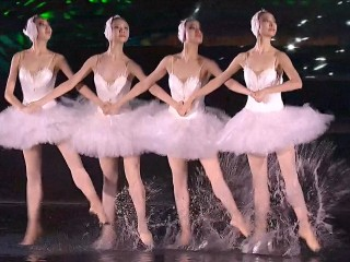 Watch Spectacular 'Dancing on Water' at G-20 Opening Gala