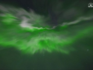 Watch Spectacular Display of Northern Lights