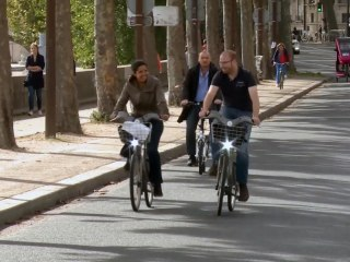 Paris Streets Transformed Into Paradise for Cyclists