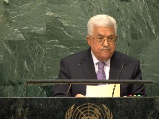 Abbas: Illegal Israeli Settlements Prevent Two-State Solution