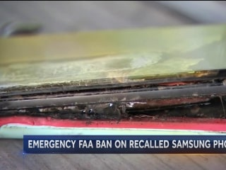 FAA Issues Emergency Ban on Samsung Galaxy Note 7 Phones on U.S. Flights