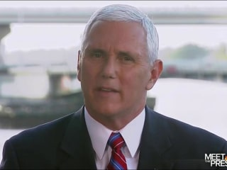 Pence Promises to Accept Results But Calls Election 'Rigged'