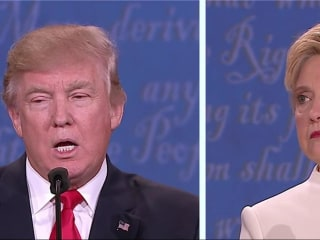 Clinton, Trump Clash on Abortion Rights