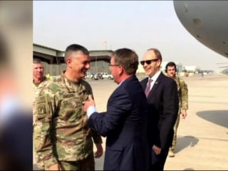 American advisors helping Iraqi forces take back Mosul from ISIS