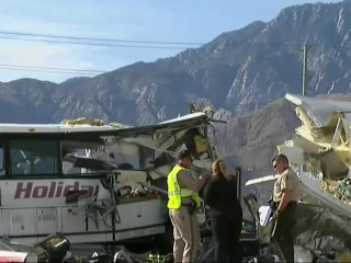 California Tour Bus Crash Kills More Than a Dozen