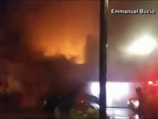 Caught on video: Historic building in Washington state explodes
