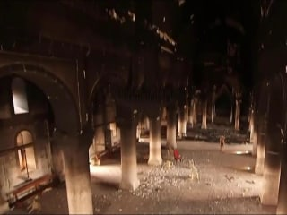 ISIS Used Iraq's Largest Church as Gun Range, Burned Pews
