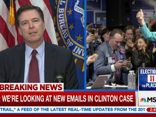 Clinton campaign responds new emails