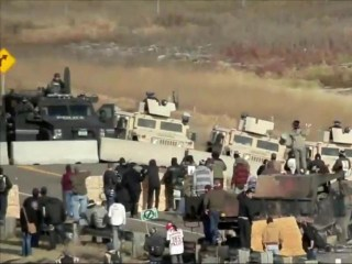 Pipeline Protesters Vow to Remain as Standoff Escalates
