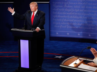 See Trump and Clinton Trade Low Blows in Final Presidential Debate