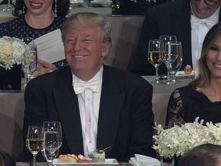 Al Smith Dinner Host Pokes Fun at Trump's Twitter Use