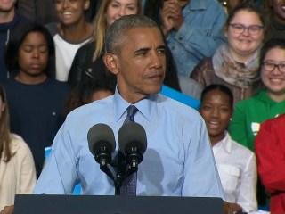 Obama Wonders Why Some GOP Leaders Still Endorse Trump