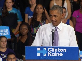 Obama: Trump's Talk of Rigged Election is Dangerous