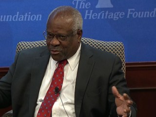 Justice Clarence Thomas Discusses 25 Years on Supreme Court