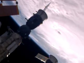See View of Hurricane Matthew From International Space Station