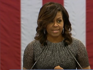 Michelle Obama's Delivers Impassioned Speech in Phoenix