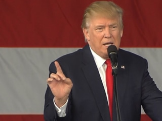 Trump Attacks Clinton on McAuliffe Campaign Contributions