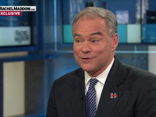 Tim Kaine on a Hillary Clinton Presidency: 'This Will Be the First Time I've Had a Female Boss'