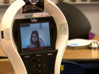 Robots Return Students To Classroom