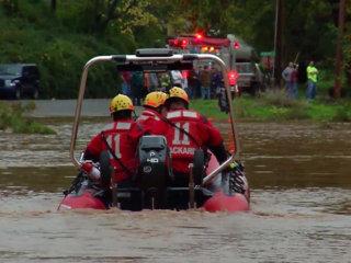 Pennsylvania Flooding Traps Residents