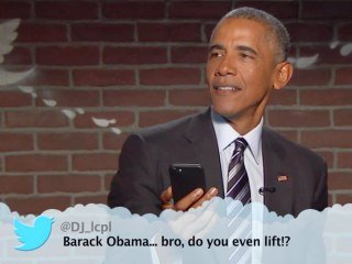 Obama responds to 'Mean Tweet' from Donald Trump on Jimmy Kimmel
