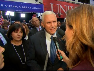 Mike Pence on 'rough and tumble' debate, if Trump campaign will accept election results