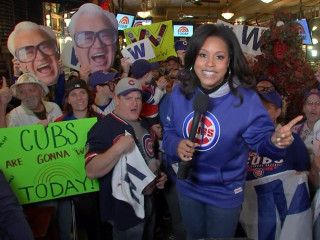 Chicago Cubs head to first World Series since 1945, and the fans go wild