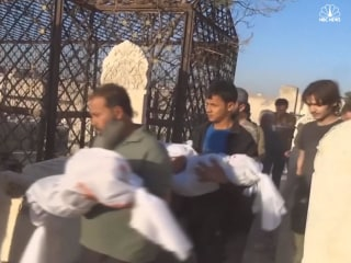More Child Victims Laid to Rest in Aleppo