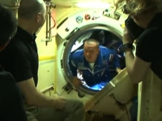 New Crew Arrives on International Space Station