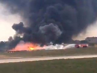 Five Killed in Fiery Aircraft Crash