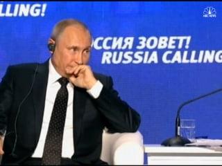 Putin Claims U.S. Provoking Anti-Russian Sentiment