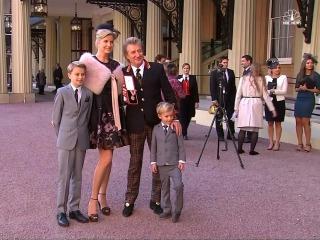 Rod Stewart Receives Royal Knighthood