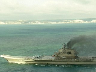 Russian Warships Steam Through the English Channel