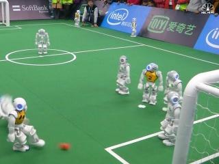 Texas Beats Australia at Soccer 'RoboCup'