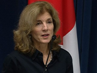 Caroline Kennedy Hails 'Historic' Election at Presidential Debate Event
