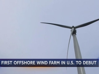 Nations' First Offshore Wind Farm To Debut