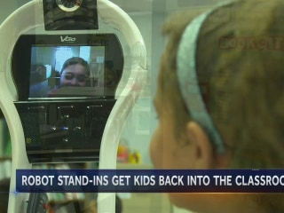 This Robot Is Opening the Virtual Classroom Door For Kids