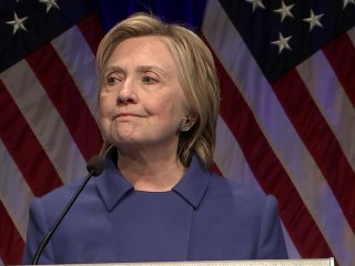 Hillary Clinton Makes First Public Appearance Since Conceding the Election