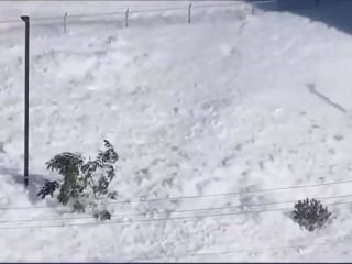 Tidal Wave of Foam Sweeps Through California CIty