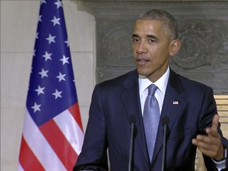 Obama: 'I Still Don't Feel Responsible' for Trump's Words or Actions