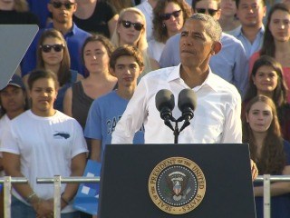 Obama Makes Urgent Plea to Young People to Vote