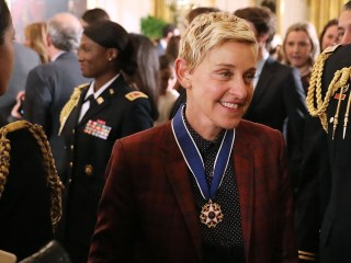 Ellen Among Obama's Medal of Freedom Recipients