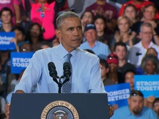President Obama: There's a Reason Why We Haven't Had a Woman President