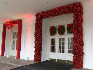 An Inside Look at the White House's Christmas Decorations