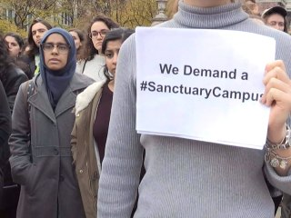 Anti-Trump Protests Continue on Campuses
